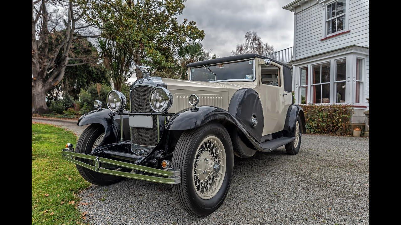 1930 Vauxhall Kingston Sportsman\'s Coupe (VIDEO) - Waimak Classic ...