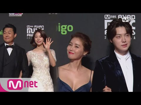 Red Carpet With Park Sung Woong  Seo Eun Su & Ahn Jae Hyeon & Kim Sung Ryoung│2018 MAMA In HONG KONG