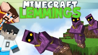Minecraft Minigames - Lemmings - Games With Sips