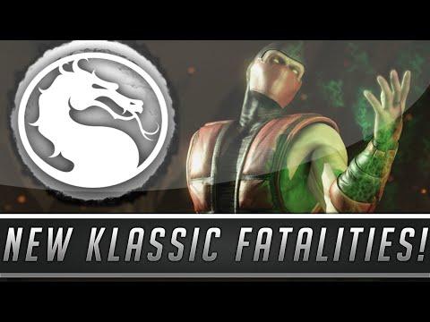 Mortal Kombat X: New Klassic Fatalities Pack #2 Details - MK2 Fatalities Return! (Mortal Kombat 10)