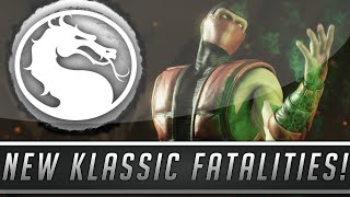 Mortal Kombat X: New Klassic Fatalities Pack #2 Details - MK2 Fatalities Return! (Mortal Kombat 10)