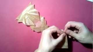#12 Origami Hell Cobra by Chan Pak Hei (part 3 of 3) - Yakomoga Origami tutorial
