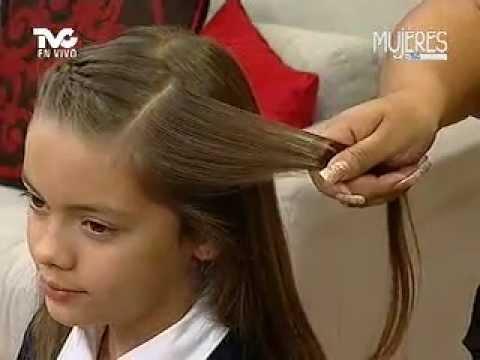 Peinados Basicos Para Este Regreso A Clases Youtube