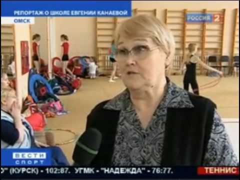 News clip-Zhenya's RG School in OMSK-EC 2010