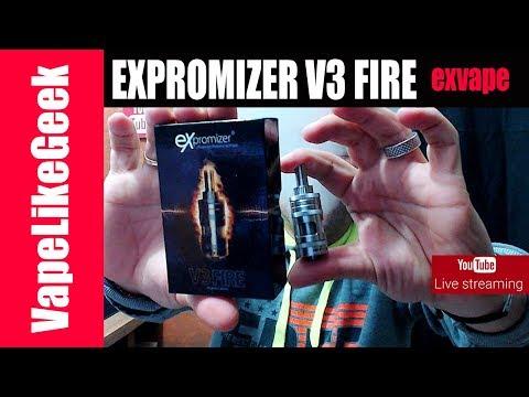 EXPROMIZER V3 FIRE Live  παρουσίαση  -  Κληρώσεις  - Απορίες