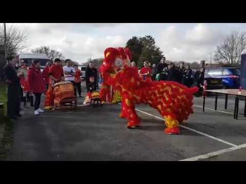 Harlow CNY Celebration 2018 Lion Dance Outdoor