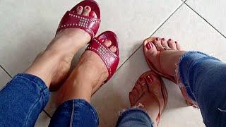 Shoeplay in sexy Mules - YelahiaG