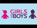 Girls vs boys attitude and behavior ...  Watch till end
