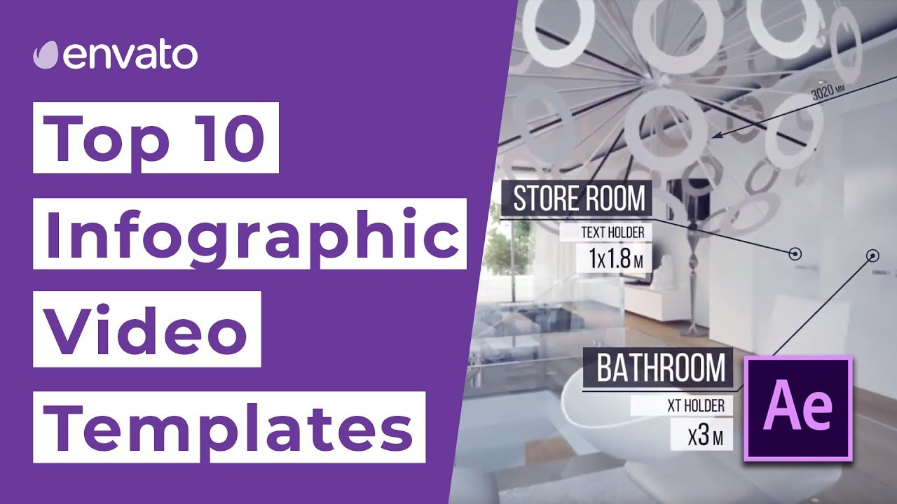 13 Top Infographic Video Templates (Animated Graphics) for