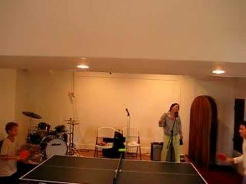 karaoke table tennis
