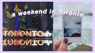 a weekend in Toronto - Niagara Falls, TIFF, Arcades | canada vid #3
