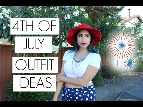 4th of July Outfits | Summer Outfit Ideas 🇺🇸 | designbybrianna