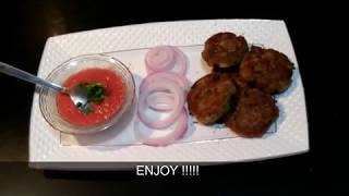 HOW TO MAKE VEG SOYA-KABAB