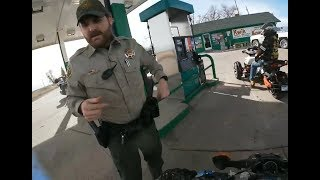 BIKERS VS COPS - Motorcycle Police Chase Compilation #25 - FNF