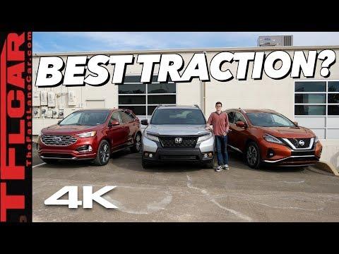 Honda Passport vs Ford Edge vs Nissan Murano: Which AWD System Tops The Rest? TFL Slip Test Ep.3
