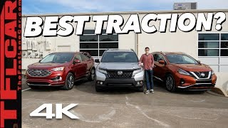 Honda Passport vs Ford Edge vs Nissan Murano: Which AWD System Tops The Rest? TFL Slip Test Ep.3
