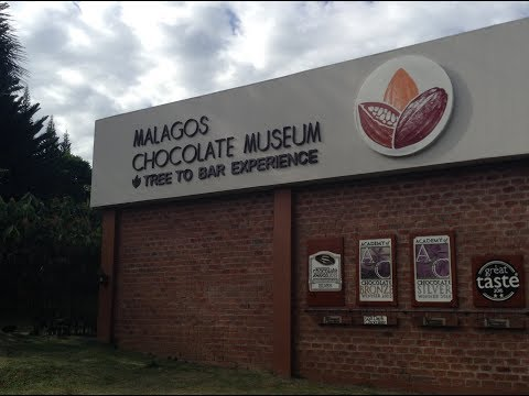 Visiting the Malagos Chocolate Museum in Davao City