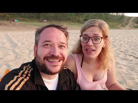 Eating Russian Fish From Lake Baikal On Olkhon Island