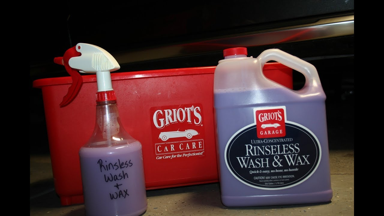 Griot S Garage Rinseless Wash And Wax Review Youtube