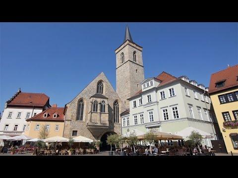 Erfurt - Sehenswürdigkeiten der Landeshauptstadt Thüringens