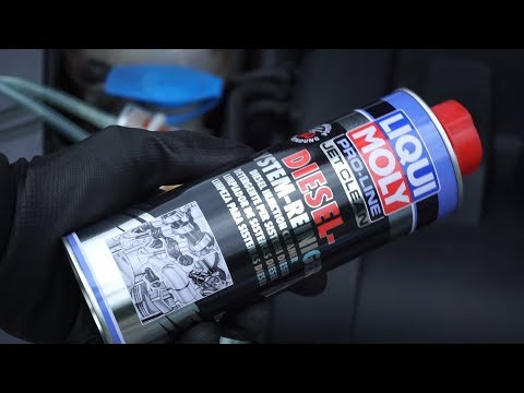 How to replace fuel filter & clean injectors with Liqui Moly PRO-LINE DIESEL SYSTEM REINIGER 5156