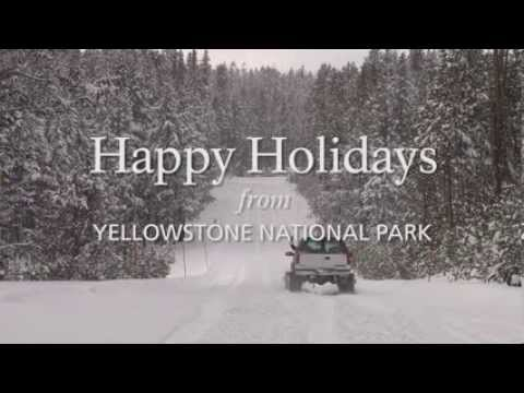 Merry Christmas from Yellowstone Wildlife Cabins