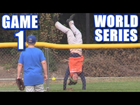 WORLD SERIES GAME 1! | On-Season Softball Series