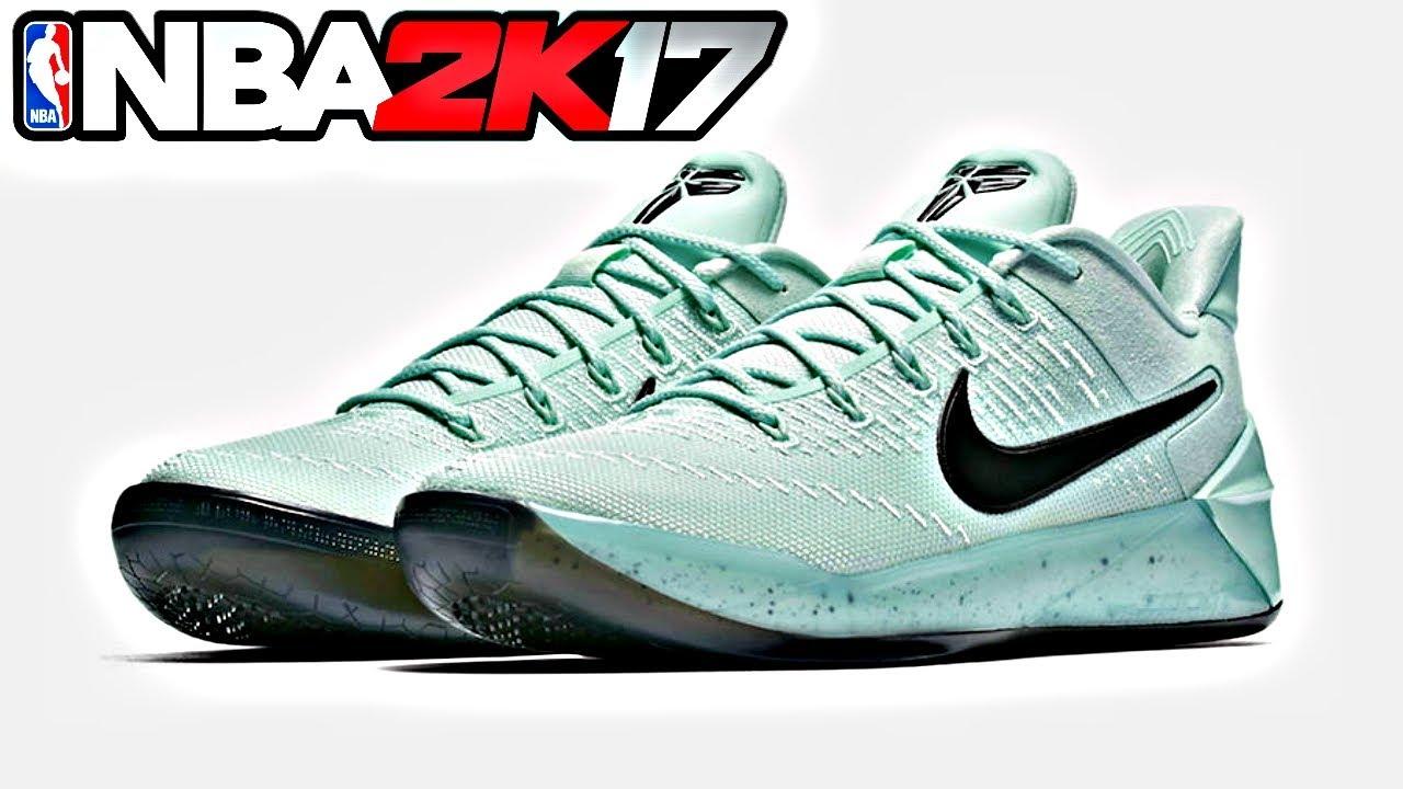 NBA 2K17 Shoe Creator Nike Kobe AD