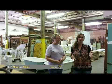 Let's Move With Nikki- EPISODE 10 FHG ARCHITECTURAL SALVAGE