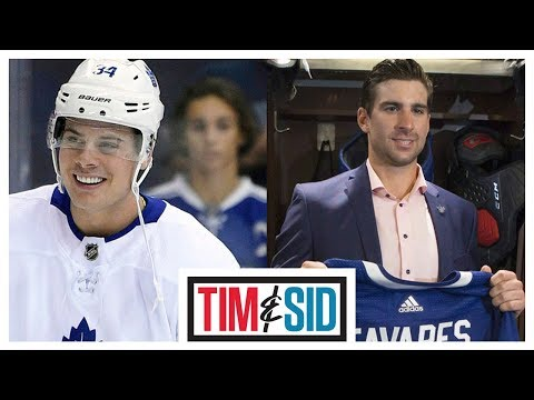 Matthews or Tavares? Who Should Wear The 'C' For The Maple Leafs? | Tim and Sid