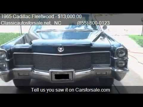 1965 Cadillac Fleetwood for sale in Nationwide, NC 27603 at ...