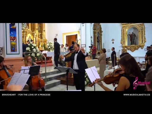 Braveheart - For The Love Of A Princess orquesta de camara Bodas Murcia Alicante