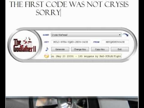 crysis free warhead keygen