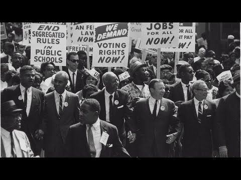 53rd Anniversary of the March on Washington for Jobs and Freedom