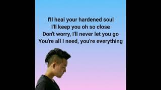 By my side - Maudy Ayunda ft. David Choi (lirik)