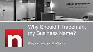 Why Should I Trademark my Business Name?