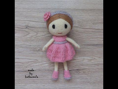 Кукла рози вязание крючком
