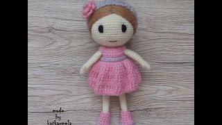 Кукла крючком для деток: Рози