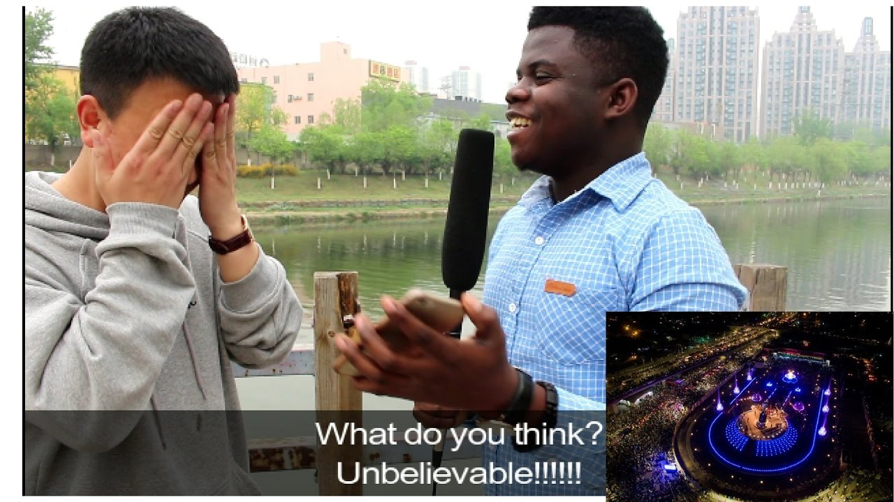 Chinese React To Africa They Don't See On TV