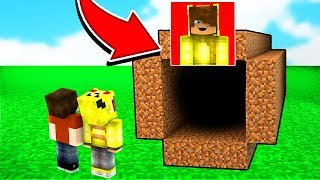 ISMETRG'NİN GİZLİ TÜNELİNİ BULDUM! 😱 - Minecraft