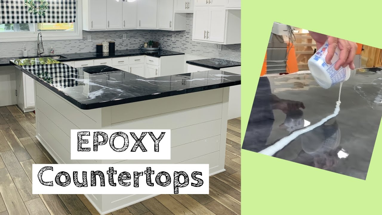 EPOXY Countertops! | Complete Build and Pour