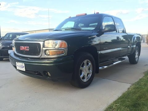 2002 gmc sierra 1500 denali awd truck for sale longmont. Black Bedroom Furniture Sets. Home Design Ideas