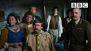 Horrible Histories stars reunite in Ghosts, where the living scare the dead - BBC