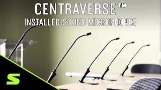 Shure Centraverse™ Installed Sound Microphones
