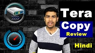 Tera Copy - Fast Copying Software   Review in (Hindi)