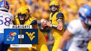 Kansas vs. West Virginia Football Highlights (2018) | Stadium