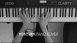 Zedd - Clarity ft. Foxes (Piano Cover)