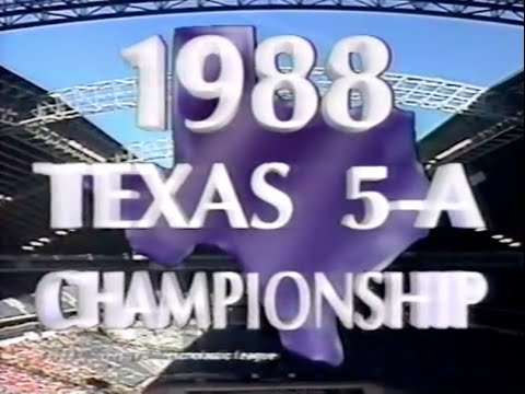1988 Judson vs Dallas Carter pt 1