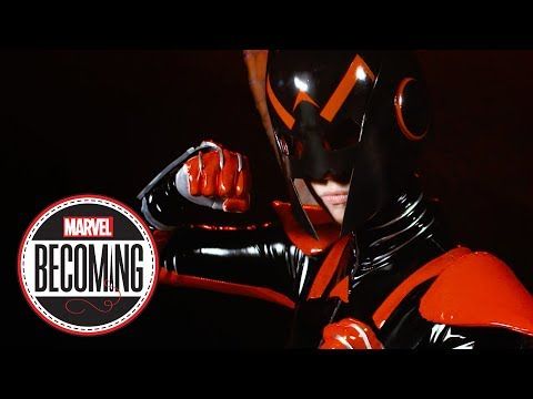 Cosplayer Jes Reaves Becomes Wasp - Marvel Becoming - 동영상