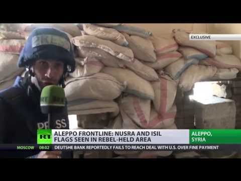 RT visits Aleppo frontline as fierce battles continue (EXCLUSIVE)